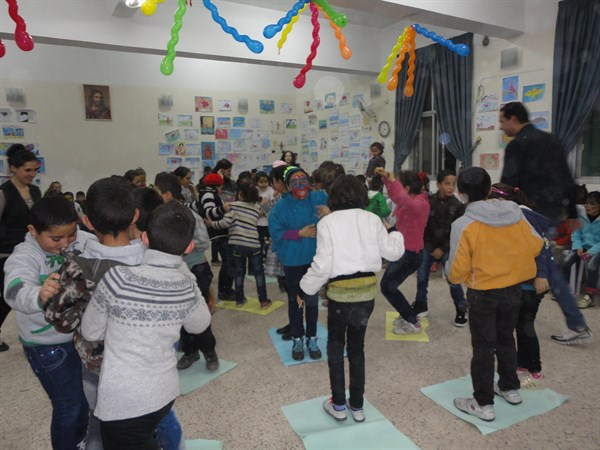 """Child Friendly Spaces"" for Children Affected by the Crisis in Syria"